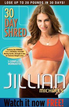 Jillian Michael's 30 Day Shred - All Levels (Watch It Free!)