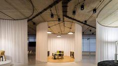 Chybik + Kristof clad Czech furniture showroom