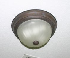 Installing a new light fixture.easier than you think! Old Things, Things To Come, Home Projects, Light Fixtures, Lighting, Lights, House Projects, Light Fittings