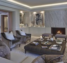 """""""One of my favourite living rooms I've designed in the villa project in Spain"""""""