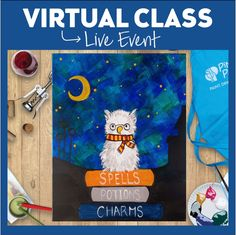 "Paint, Drink & Have Fun from the comfort of your own home with Pinot's Palette live and interactive Virtual Events! Pick up your supplies curbside, we can deliver or ship! Use code ""CLASSONLY"" for only the link and you can use your own painting supplies. 847-730-5972 for more details #PaintandSip #PinotsPaletteGlenview #Glenviewil #ChicagoNorthShore #TheGlen #GirlsNight #Acrylic #CreateHomeFun #Craft #HomeDecor #pinotslive #pinotsvirtualevent #VirtualPaintingClasses"