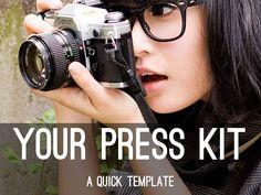 templat, haiku deck, press kit