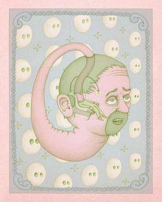 Les étranges illustrations surréalistes de Benedikt Notter