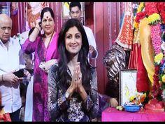 Shilpa Shetty visits Andheri Cha Raja for Ganpati Darshan | Ganesh Chaturthi 2014.