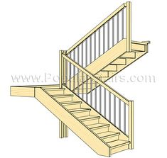 stairs with landing - Google Search