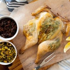 Simple, quick and easy - this tender and juicy roast chicken with sticky onions will be the star of your dinner table!