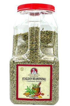 Italian seasoning is a blend made up of several different herbs, including rosemary, oregano, basil, thyme, and marjoram. Great on pizza, pasta and many other different types of dishes. Balsamic Vinegar Of Modena, Natural Spice, Italian Spices, Truffle Oil, Best Appetizers, Drying Herbs, Italian Seasoning, Truffles, Gourmet Recipes