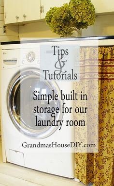 Tutorial for built in storage and an enamelware counter top in our laundry makeover how to, wood working, diy, do it yourself Cute Home Decor, Cheap Home Decor, Diy Wood Projects, Wood Crafts, Diy Crafts, Laundry Room Storage, Laundry Rooms, Composting Toilet, Laundry Hacks