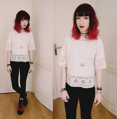 Lea B. - White crochet