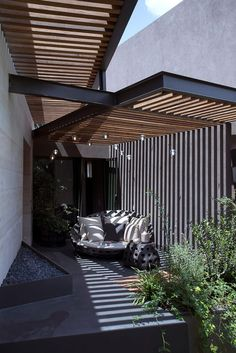A pergola is one of the most striking yet functional structures that you can build in your garden. It can […] 10 Easy DIY Garden Pergola Plans You Can Build To Add Beauty To Your Landscape Diy Pergola, Corner Pergola, Cheap Pergola, Outdoor Pergola, Wooden Pergola, Outdoor Decor, Timber Pergola, Black Pergola, Garage Pergola