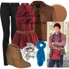 """Merlin"" by amarie104 on Polyvore"