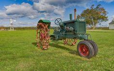16 x 20 Tractor Print