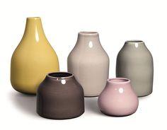 Kahler Botanica Vaser (Sett med 5 stk) - Lunehjem.no Nettbutikk