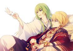 Enkidu and Gil-kun!!!