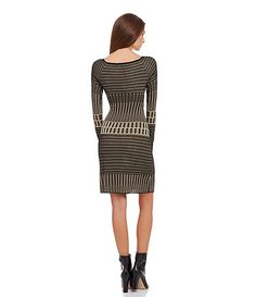 080af46e0a M.S.S.P Metallic Sweater Dress Casual Dresses For Women