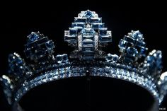 from another exhition, the aquamarine is a favourite at Cartier and features at most shows