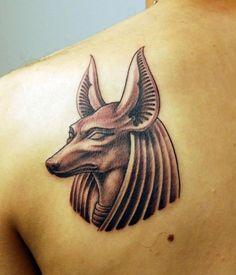 anubis head tattoo designs - http://trendingideas.com/anubis-head-tattoo-designs/ - #Anubis-Head-Tattoo-Designs