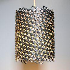 pulltabs lampshade | abażur z zawleczek