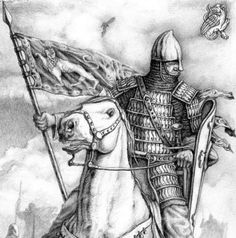 The historical writing of Barry C. Medieval Knight, Medieval Armor, Knight Drawing, Norman Knight, Warriors Standing, Soldier Drawing, Crusader Knight, High Middle Ages, History Page