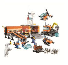 Bela 783Pcs <font><b>City</b></font> <font><b>Arctic</b></font> <font><b>Base</b></font> <font><b>Camp</b></font> Building Block sets <font><b>Arctic</b></font> explorer pilot Minifigures Kids Toy Compatible with <font><b>Legoes</b></font> 60036 Price: USD 42.99 | UnitedStates