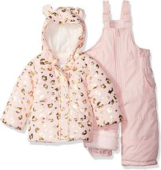 This is a link to Amazon and as an Amazon Associate I earn from qualifying purchases. Carter's Baby Girls 2-Piece Heavyweight Printed Snowsuit with Ears #babyclothes #babysnowsuit Winter Baby Clothes, Baby Winter, Carters Baby Girl, Toddler Girl, Baby Girls, Teen Boys, Snow Wear, Baby Snowsuit, Newborn Boy Clothes