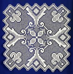 One of the oldest forms of lace making is filet lace, also called net lace, darned net lace or lacis. The origins of this form of lacemaking...