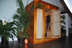 Step into your private sauna, relax, listen to the music, read or meditate. Providing therapeutic benefits such as detoxification, weight loss, pain relief, and improved circulation. Carolina Beach, NC 910.795.8561 www.islandmassagedayspa.com