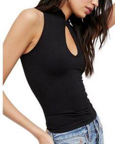 96bcf22408 25 Best deep V neck t shirt for lady images