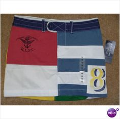 Ralph Lauren Varsity Rugby Patch Skirt Age 10 RRP £69 - New With Tags Listing in the Skirts,Sizes 9/10 (Age 9-10),Girls Clothing,Clothes, Shoes, Accessories Category on eBid United Kingdom