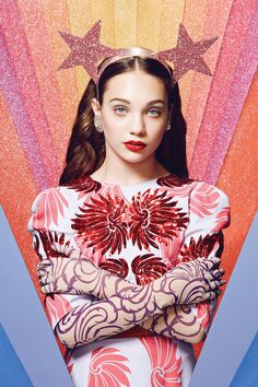 MADDIE ZIEGLER SHINES ON The 13-year-old dance star and Sia muse has some fun with one of her favorite hobbies: makeup http://www.papermag.com/maddie-ziegler-makeup-1722684907.html?slide=qVWqud