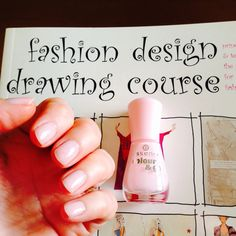 Palest pink Drawing Course, Pale Pink, Nail Polish, Nails, Fashion Design, Finger Nails, Ongles, Nail Polishes, Polish