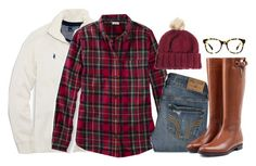 """""""Football Bonfire OOTN"""" by robramey17 ❤ liked on Polyvore featuring Polo Ralph Lauren, Hollister Co., Burberry, ASOS and Warby Parker"""