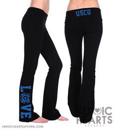 USCG LOVE Yoga Pants