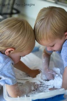 The very best sensory materials for kids as well as a list of ways to use them.
