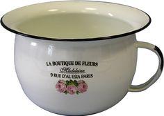 #Emaille #Vase Boutique, Vase, Mugs, Tableware, Madeleine, Enamels, Deco, Dinnerware, Tablewares