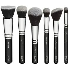 ZOEVA Vegan Face Brush Set is a professional collection of Synthetic makeup brushes designed to achieve the perfect complexion. This luxuri Zoeva Makeup Brushes, It Cosmetics Brushes, Eyeshadow Brushes, Cosmetic Brushes, Face Brush Set, Brush Sets, Makeup Brush Set, Face Makeup, Makeup Stuff