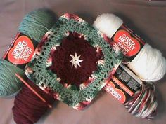 """How to Crochet the """"Poinsettia Afghan Motif""""-(joining)-Video 2 of 2"""