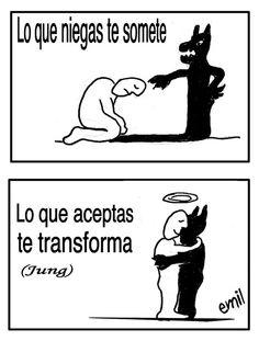 ...  LA SOMBRA. Carl Jung.