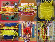 weaving/collages (i have no idea what to call these junk collections)   Flickr - Photo Sharing!