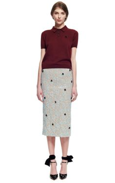 Chic, chic, chic for office .   Rochas