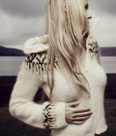 Besides making incredible pictures, Rebekka Guðleifsdóttir also knits. Is there such a thing as being TOO talented? Check out her beautiful sweaters: http://www.rebekkagudleifs.com/sweaters.php #iceland