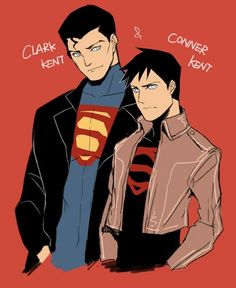 Superman and Superboy - young-justice Photo