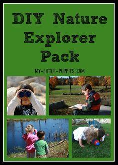 DIY Nature Explorer Pack