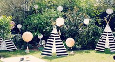 Black and White Tee Pee Baby Shower - Raising Miss Matilda :: San Diego Mom and Lifestyle Blog