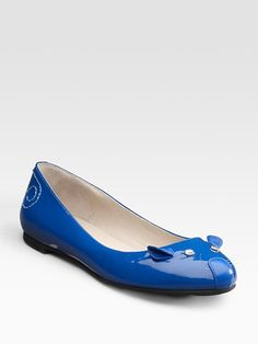Marc Jacobs blue mouse shoes...they are cute in blue @Leslie McDaniel