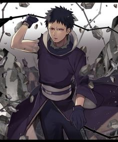 無題 go obito! not my art. #uchiha #obito
