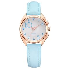>> Click to Buy << Women Fashion Leather Band Analog Quartz Round Wrist Watch Watches Free Dropping montre homme clock stainless steel au2 #Affiliate