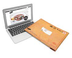 ★ NEW : Housse d'ordinateur enveloppe ►►► http://ow.ly/UsxH0  25.90€ Baladez vous incognito avec votre Notebook. Avec en prime une protection ultra efficace.
