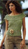 Sweet Nothings Crochet: OFF-THE-SHOULDER TOP 2