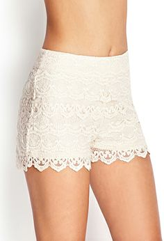 Crochet Lace Shorts | FOREVER 21 - 2000061153